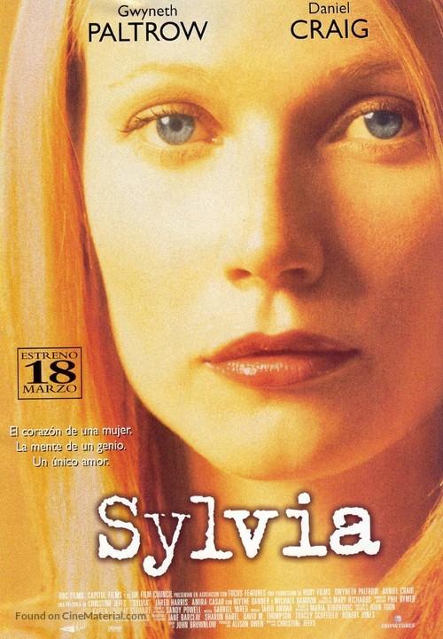 Sylvia - Spanish Movie Poster