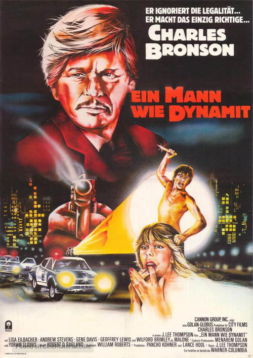 10 to Midnight - German Movie Poster