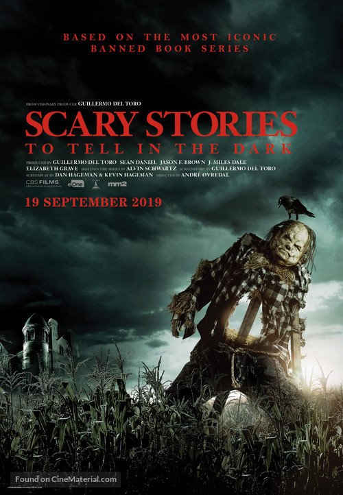 Scary Stories to Tell in the Dark - Malaysian Movie Poster