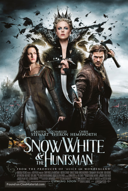 Snow White and the Huntsman - Movie Poster