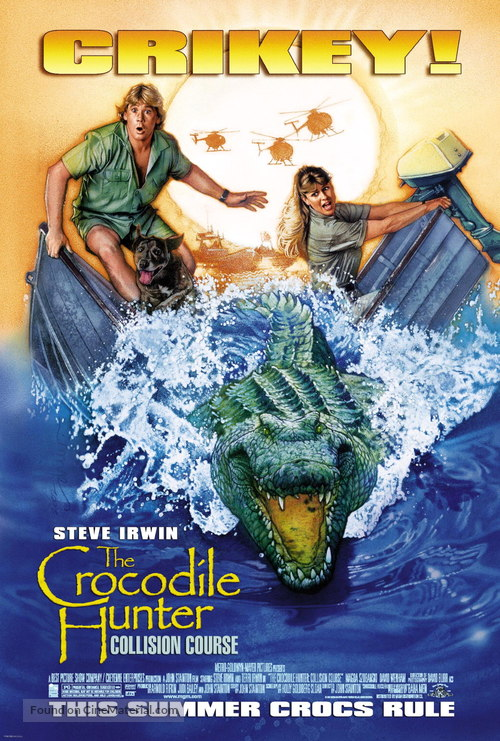 The Crocodile Hunter: Collision Course - Movie Poster