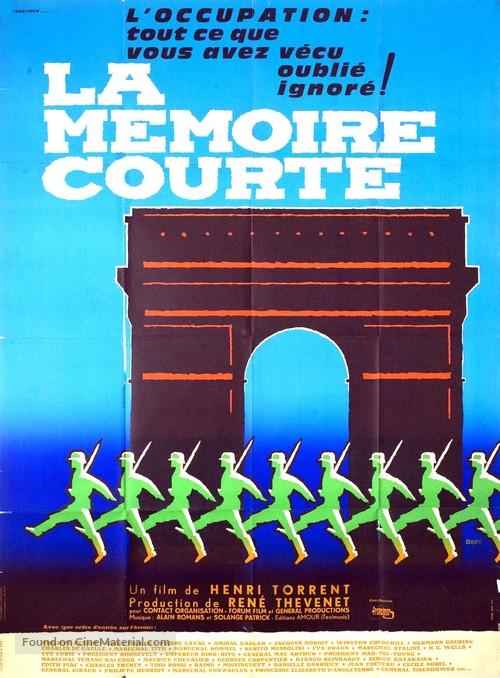 La mémoire courte - French Movie Poster