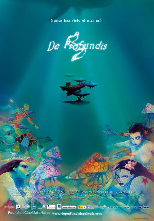 De profundis - Spanish Movie Poster