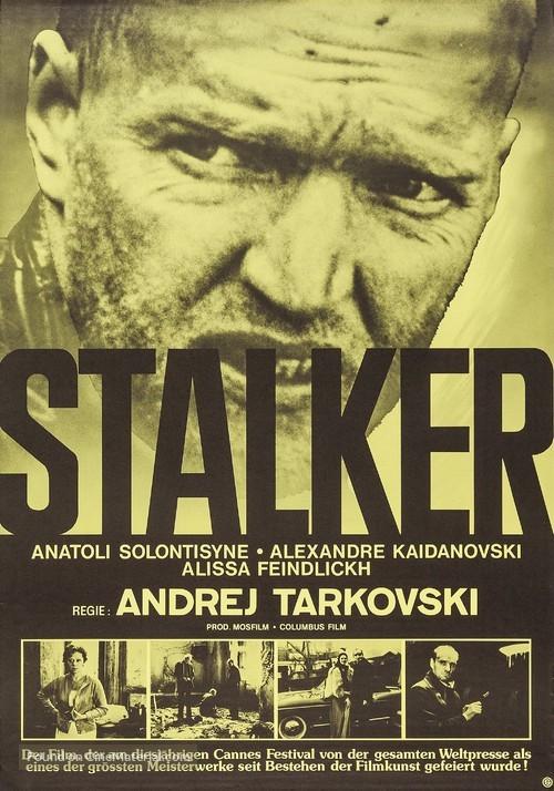 Resultado de imagen de stalker 1979 movie poster