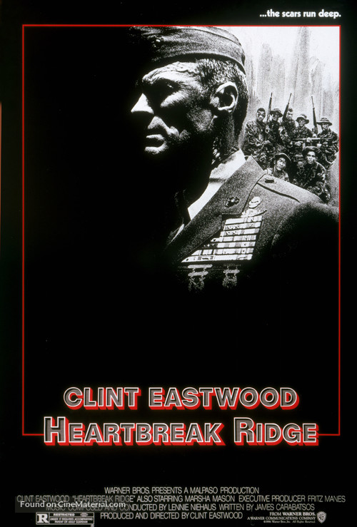 Heartbreak Ridge - Movie Poster