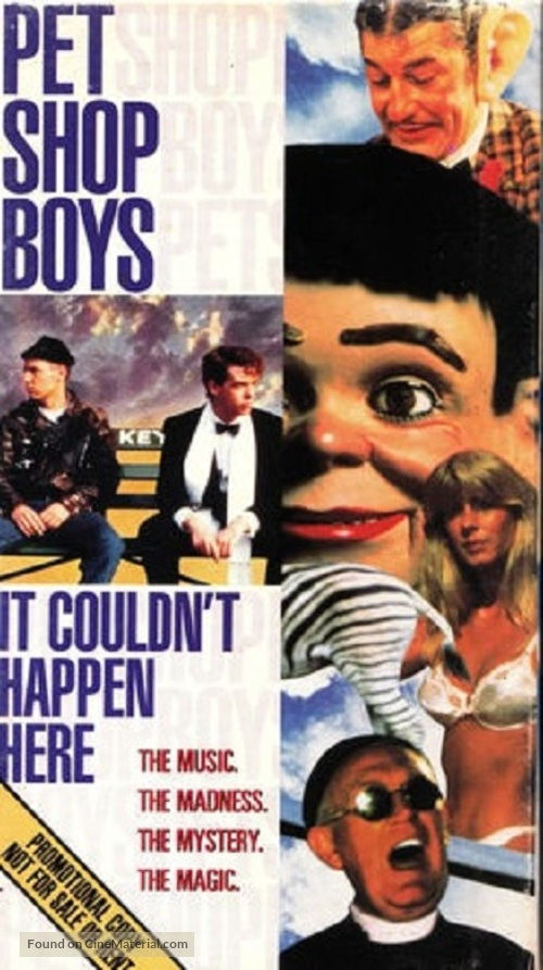 It Couldn't Happen Here - VHS cover