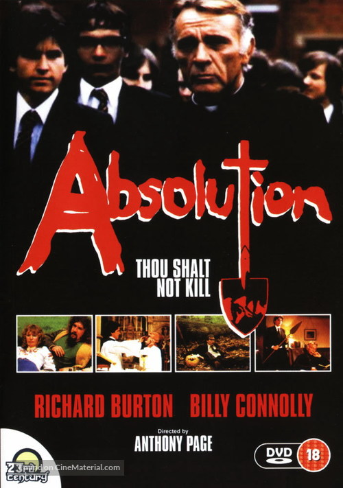 Absolution - British DVD movie cover