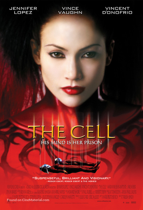 The Cell - Movie Poster