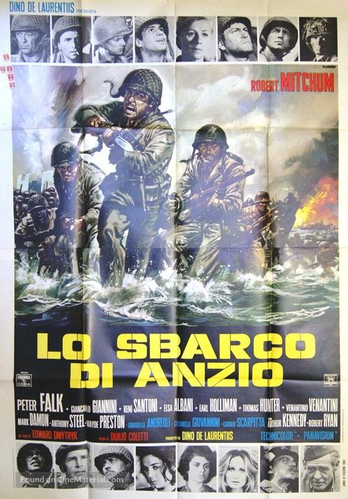 Anzio - Italian Movie Poster
