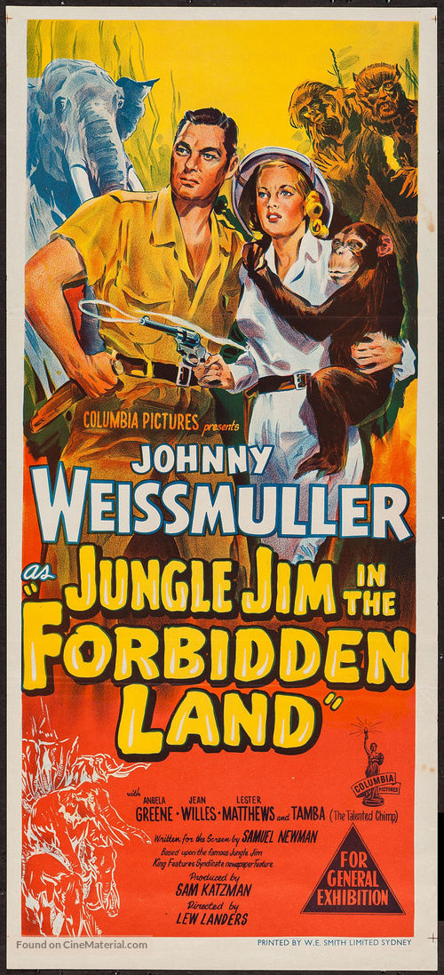 Image result for jungle jim in the forbidden land