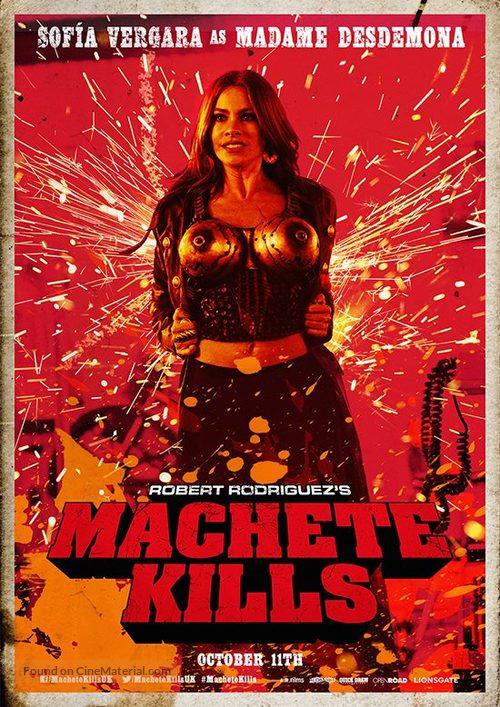 Machete Kills - British Movie Poster