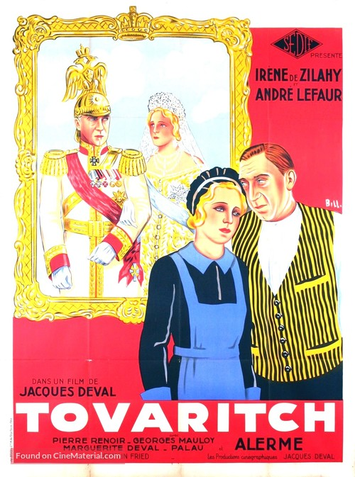 Tovaritch - French Movie Poster