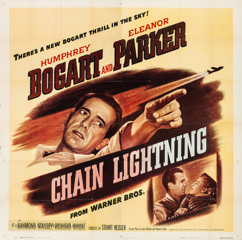 Chain Lightning - Movie Poster