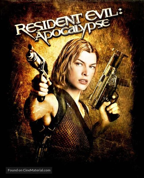 Resident Evil: Apocalypse - British Movie Cover