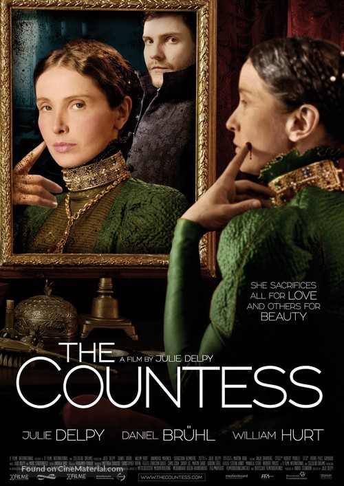The Countess - German Movie Poster
