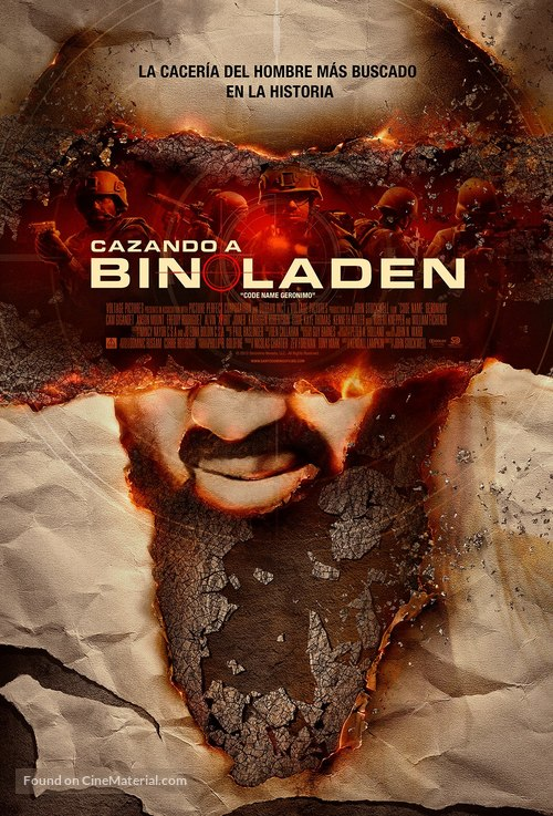Seal Team Six: The Raid on Osama Bin Laden - Mexican Movie Poster