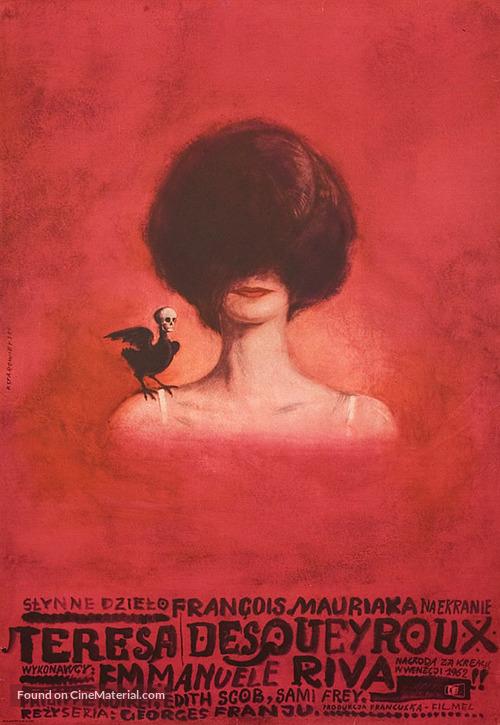 Thérèse Desqueyroux - Polish Movie Poster