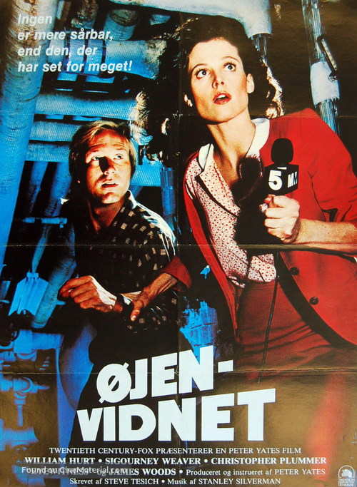 Eyewitness - Danish Movie Poster