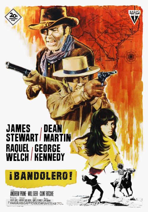 Bandolero! - Spanish Movie Poster
