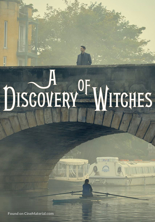 """""""A Discovery of Witches"""" - British Movie Cover"""