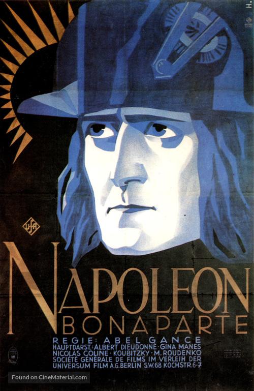 Napoléon - German Movie Poster