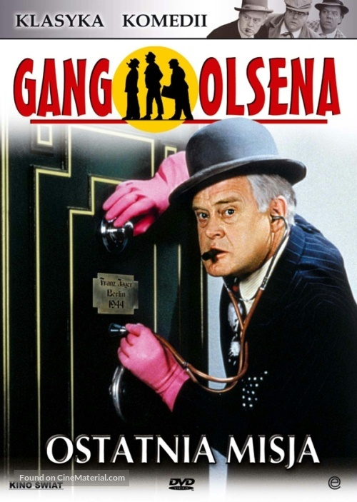 Olsen Bandens Sidste Stik Polish Dvd Cover