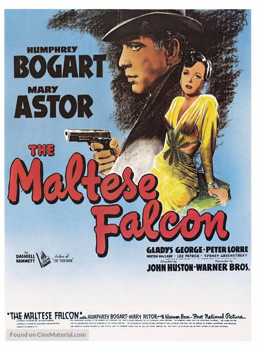 The Maltese Falcon - Movie Poster