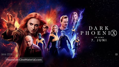 X-Men: Dark Phoenix - Norwegian Movie Poster
