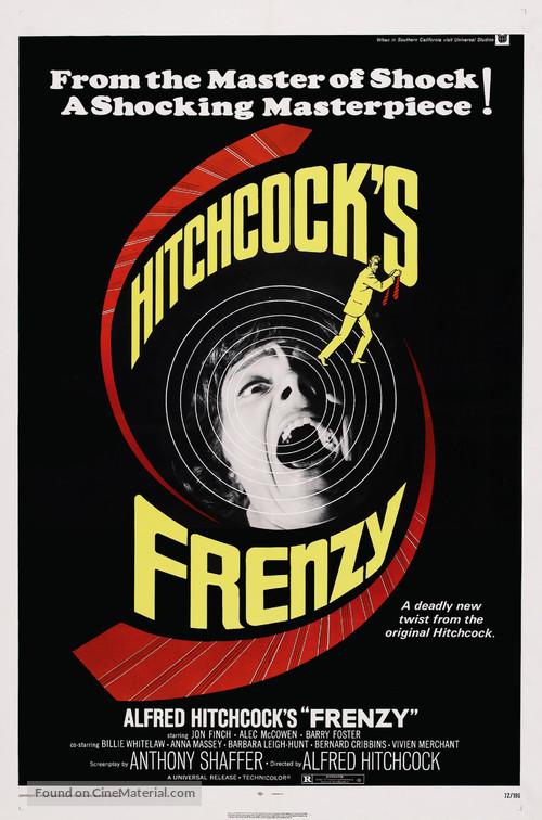 Frenzy - Theatrical poster
