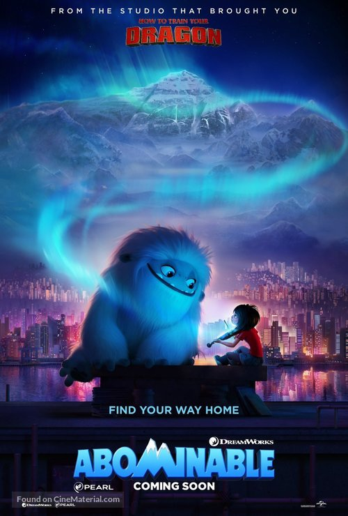 Abominable - International Movie Poster