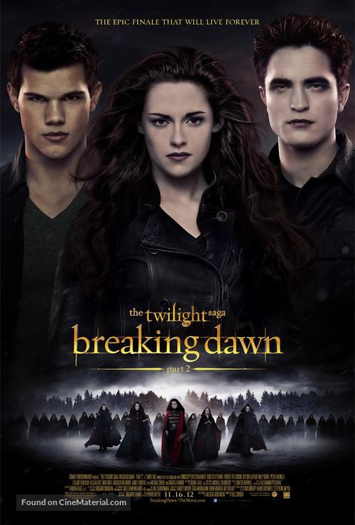 The Twilight Saga: Breaking Dawn - Part 2 - Movie Poster