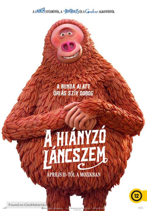 Missing Link - Hungarian Movie Poster