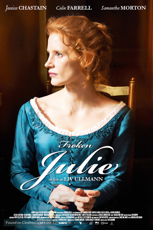 Miss Julie - Norwegian Movie Poster