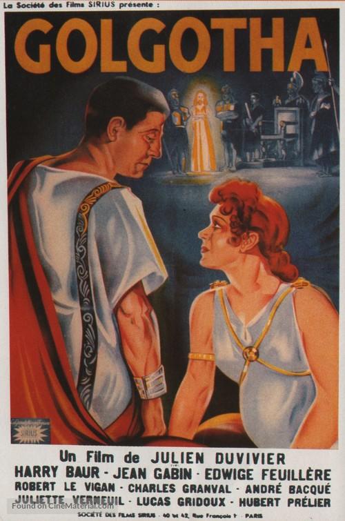 Golgotha - French Movie Poster