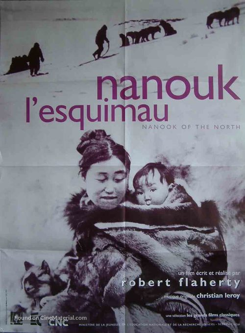 Nanook of the North - French Movie Poster