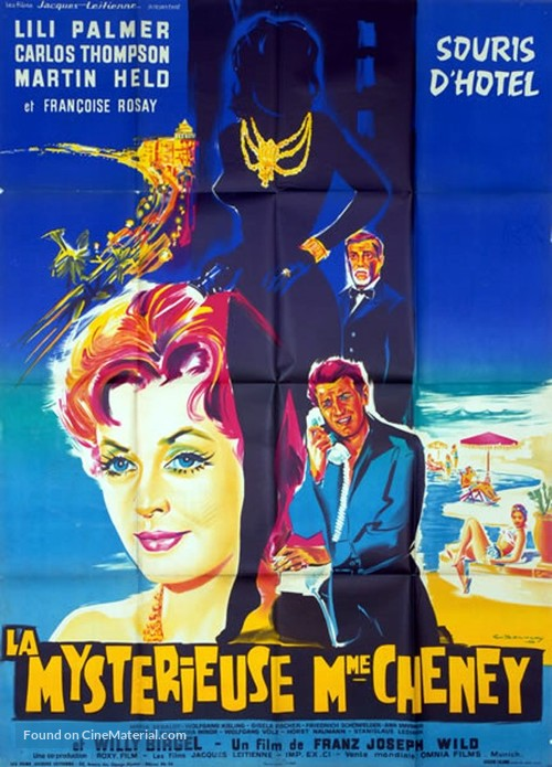 Frau Cheneys Ende - French Movie Poster