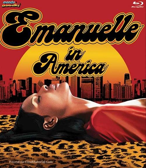 Emanuelle In America - Blu-Ray movie cover