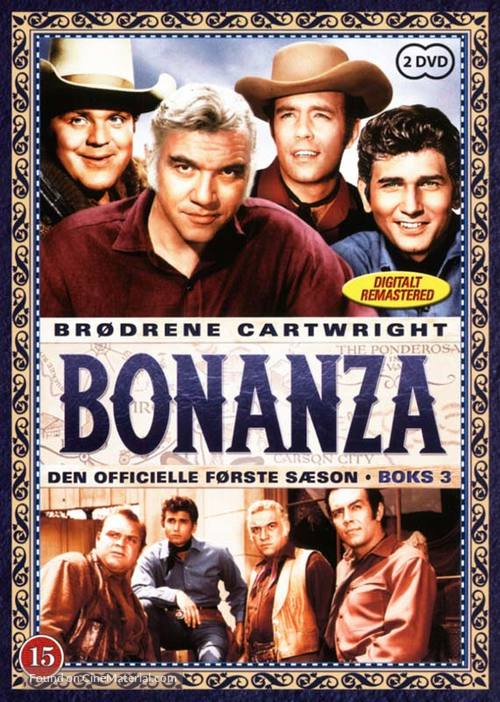 """Bonanza"" - Danish DVD cover"