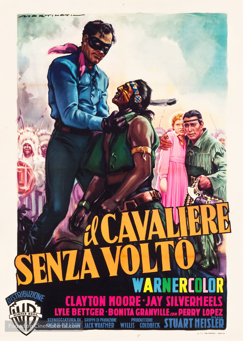 The Lone Ranger - Italian Movie Poster