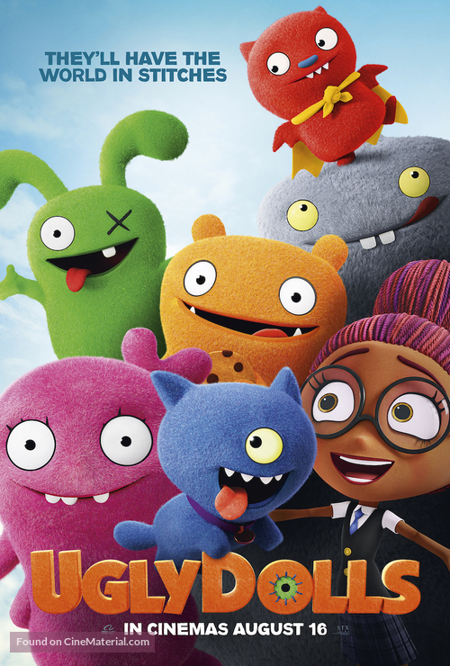 UglyDolls - British Movie Poster