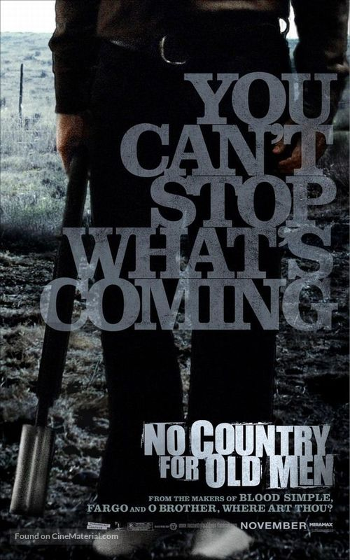 No Country for Old Men - Movie Poster
