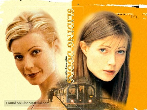 Sliding Doors British Movie Poster