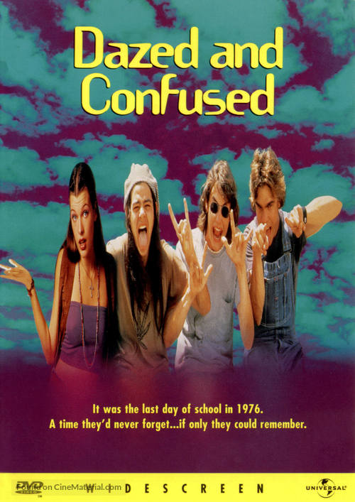 Dazed And Confused - DVD movie cover