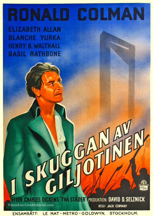 A Tale of Two Cities - Swedish Movie Poster