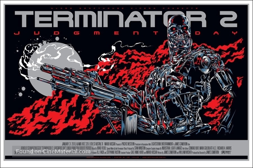 Terminator 2: Judgment Day - poster
