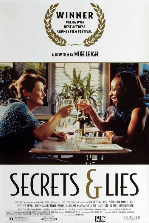 Secrets & Lies - Movie Poster