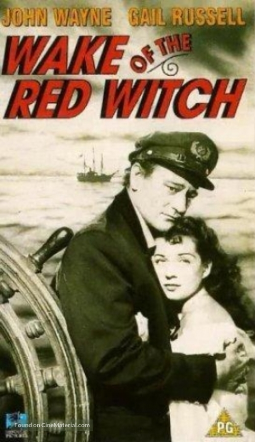 Wake of the Red Witch - British VHS movie cover