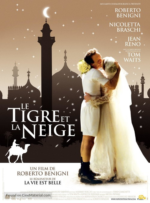 Tigre e la neve, La - French Movie Poster