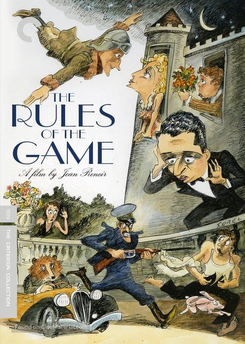La règle du jeu - DVD movie cover