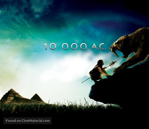 10,000 BC - Movie Poster